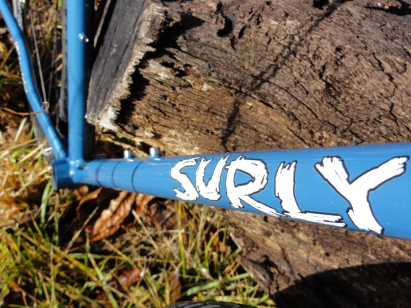 Surly decal, while it lasts.